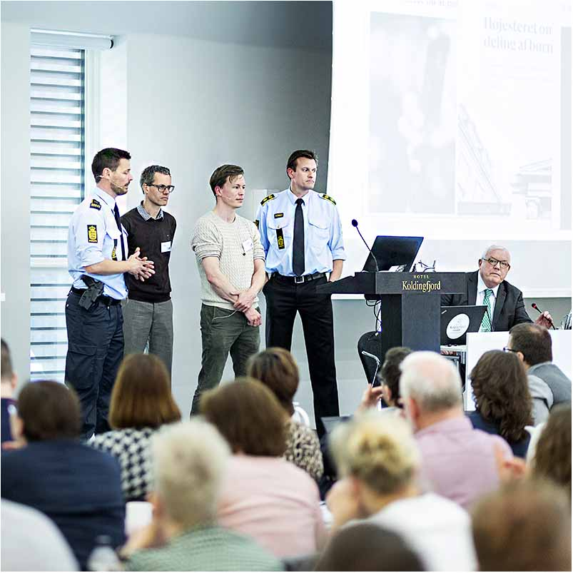 fotos fra et foredrag