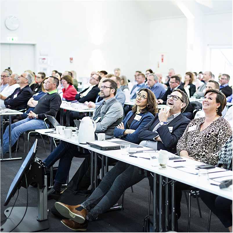 deltager ved et foredrag